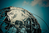 1964 New York World's Unisphere Photographic Print by  EvanTravels
