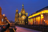 St. Petersburg. Church of Resurrection (Savior on Spilled Blood) Photographic Print by  katvic