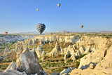 Turchia, Cappadocia, Goreme Voli in Mongolfiera Photographic Print by  frenk58
