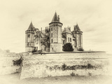 Enchanted Antique Castle Photographic Print by  mcdonojj