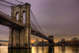 Brooklyn Bridge - New York City, Ny, USA Photographic Print by  EvanTravels