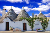 Unique Alberobello - Trulli Village, Italy Photographic Print by  Freesurf