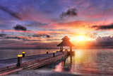 Sunset in the Paradise Photographic Print by  Fyle