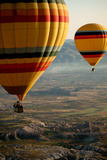 Hot Air Balloons over Cappadocia, Turkey Photographic Print by  EvanTravels