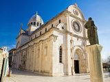 The Cathedral of St James in Sibenik Print by  xbrchx