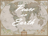 Peace on Earth - World Map Prints by  National Geographic Maps