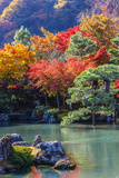 Tenryu-Ji's Sogen-Ji Garden in Kyoto Photographic Print by  coward_lion