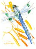 Dragonfly Print by Suren Nersisyan