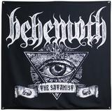 Behemoth Satanist Banner Flag Print