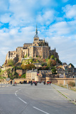 Abbey of Mont Saint Michel, France Photographic Print by  neirfy