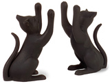 Cat Bookends - Set of 2 Home Accessories