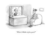 """Where's Waldo in five years?"" - New Yorker Cartoon Premium Giclee Print by Jason Adam Katzenstein"