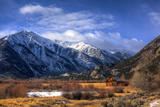 Wooden House in Mountain Valley - Twin Lakes, Colorado, USA Photographic Print by  EvanTravels