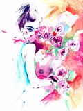 Flowers Posters by  okalinichenko