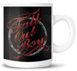 Fall Out Boy - Typography Mug Mug