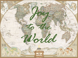 Joy to the World - World Map Posters by  National Geographic Maps