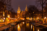 Amsterdam in the Evening. View at the Rijksmuseum Photographic Print by  katvic