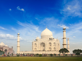 Taj Mahal, Agra, India Photographic Print by  f9photos
