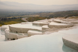 Travertine Terraces Filled with Water Photographic Print by  anzebizjan