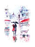 Rain Poster by  okalinichenko