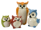 Enchanted Owls - Set of 4 Home Accessories