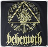 Behemoth Gold Sigil Flag Poster