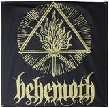 Behemoth Gold Sigil Flag Póster