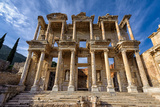 Library of Celsus Photographic Print by  salparadis