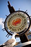 Fishermans Wharf Sign - San Francisco, California USA Papier Photo par  EvanTravels