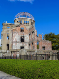 Hiroshima Peace Memorial (Genbaku Dome) Photographic Print by  coward_lion