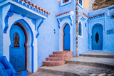 Chefchaouen, Morocco Photographic Print by  sabino parente