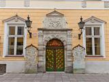 Brotherhood of the Blackheads House in Tallinn, Estonia Photographic Print by  joymsk