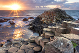 Sunset at Giant S Causeway Photographic Print Aitormmfoto