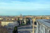 Rome Skyline Panorama Cityscape Photographic Print by  stefano pellicciari