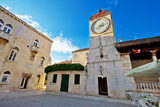 UNESCO Town of Trogir Square Photographic Print by  xbrchx