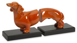 Henry Dog Bookends - Set of 2 Home Accessories