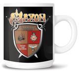 Saxon - Crest Logo Mug Krus