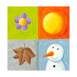Four Seasons Elements Prints by  andreapetrlik