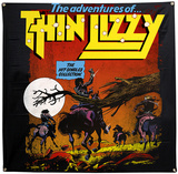 Thin Lizzy Hit Singles Flag Photographie
