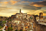 Beautiful Matera - Ancient City of Italy Photographic Print by  Freesurf