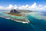 Aerial Mauritius Photographic Print by  Sapsiwai
