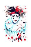 Masquerade Print by  okalinichenko