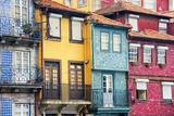 Colorful Houses of Porto Ribeira Stampa fotografica di Madrugada Verde