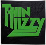 Thin Lizzy Logo Flag Prints