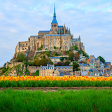 Abbey of Mont Saint Michel, Photographic Print by  neirfy