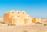 Qasr Amra in Present-Day Eastern Jordan Photographic Print by  JPAaron