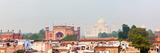 Panorama of Taj Mahal View over Roofs of Agra Photographic Print by  f9photos