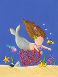 Cute Little Mermaid Prints by  andreapetrlik