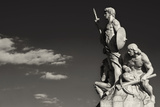Sculpture Vittoriano Rome Black and White Photographic Print by  stefano pellicciari
