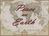 Peace on Earth - World Map Print by  National Geographic Maps